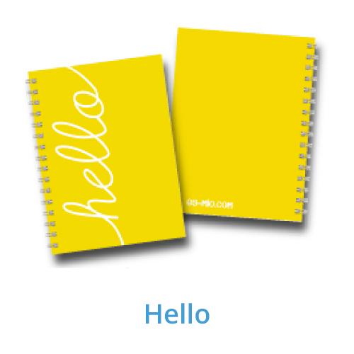 Cuaderno con cartuchera
